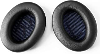 Ear Pads Replacement for Bose QC25 Quiet Comfort QC15,QC25, QC2、Around AE2,AE2i Headphones Earpad Cover (black )