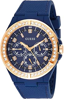 GUESS Women's watch Multi-function Display Quartz Movement Silicone W1093L2