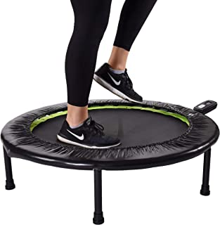 Stamina 1635 36-Inch Folding Trampoline | Quiet and Safe Bounce | Access to 3 Free Guided..