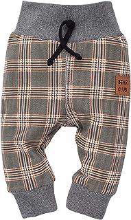 Surv/êtement pour gar/çon gar/çon Pinokio B/éb/é 62 68 74 80 86 100/% Cotton Mois Gris//Noir Pantalon