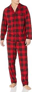 Men's Cozy Fleece Plaid Pajama Set