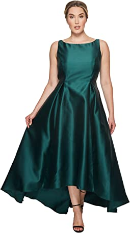 Adrianna Papell - Plus Size High-Low Arcadia Ball Gown