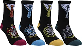 4 x calcetines negros HARRY POTTER