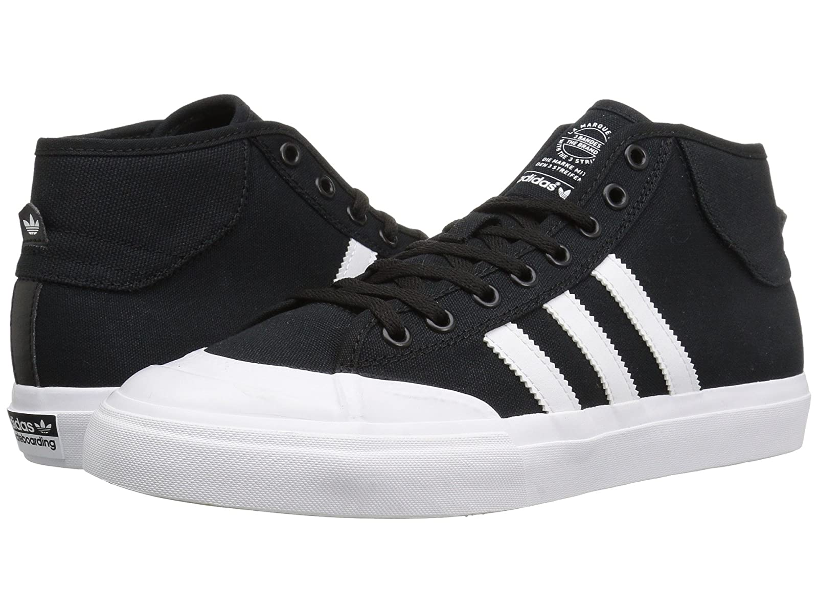 adidas Skateboarding Matchcourt MidStylish and characteristic shoes