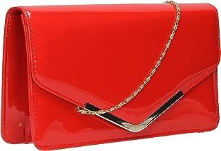 en ligne ici sensation de confort nouvelles images de Amazon.fr : Rouge - Pochettes & Clutches / Femme ...