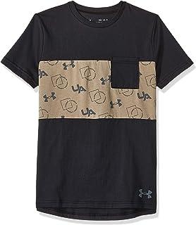 قمصان وتي شيرتات للاولاد من الجنسين بنمط رياضي وجيوب من اندر ارمور