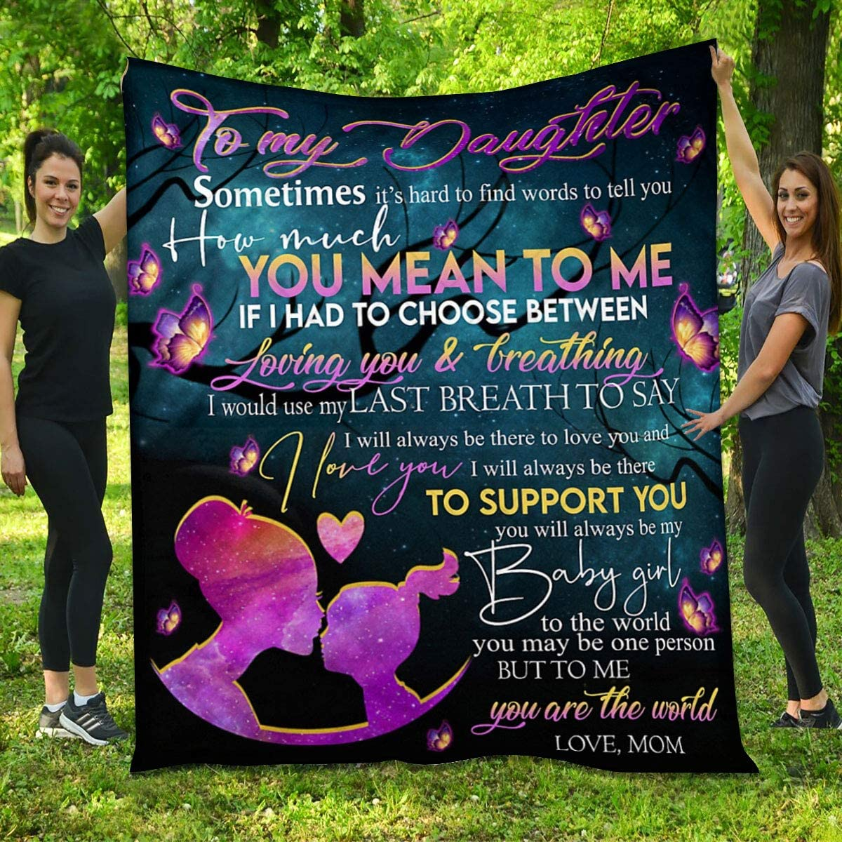 Limited Special Price Daughter Quilt from safety Mom - Girl and The are You Butterfly