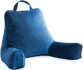 Linenspa Shredded Foam Reading Pillow – Perfect for Back Support While Relaxing,..