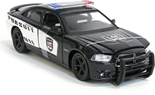 New Ray Dodge Charger Pursuit Diecast Police Car 1/24 Scale