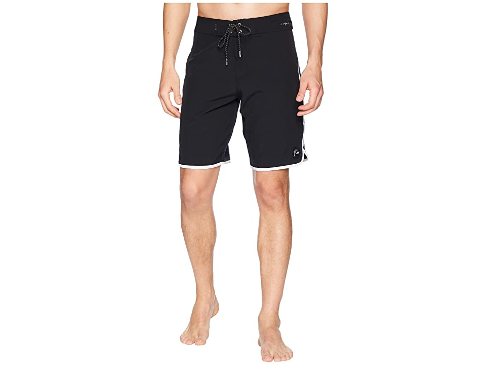 Quiksilver Highline Scallop 20 Boardshorts (Black) Men