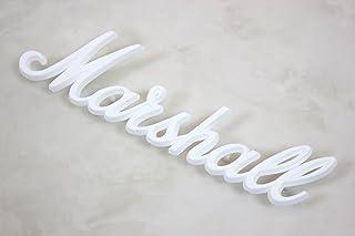 マーシャル Marshall/ロゴマーク 小 ホワイト LOGO00009【マーシャル】