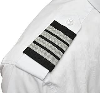 Aero Phoenix Professional Pilot Uniform Epaulets - Four Bars - Captain