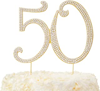 50th anniversary cake decorations