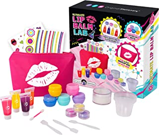 Original Stationery: Make Your Own Lip Balm Lab, Great Makeup Kit for Girls