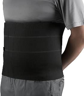 OTC Four-Panel Body Heavy Duty Select Series Abdominal Binder, Black, XX-Large
