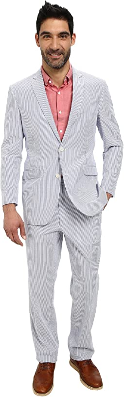 Two-Button Nested Seersucket Suit