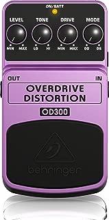 Behringer OD300 2-Mode Overdrive/Distortion Instrument Effects Pedal