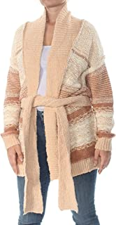 Womens Cozy Cabin Knit Long Sleeves Cardigan Sweater