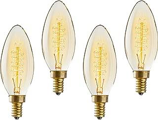 Best candelabra base edison bulb Reviews