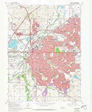 YellowMaps Lincoln NE topo map, 1:24000 Scale, 7.5 X 7.5 Minute, Historical, 1964, Updated 1973, 26.7 x 22 in