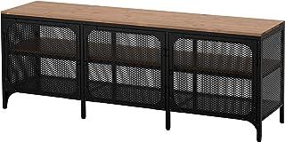 Ikea FJÄLLBO - Mueble para TV, color negro