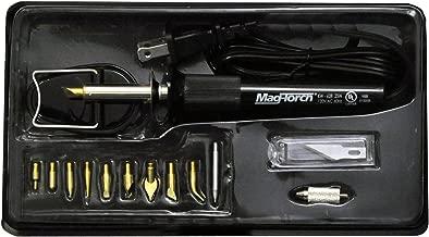 Mag-Torch MT 625 Woodburer Kit, Black, 13-Piece