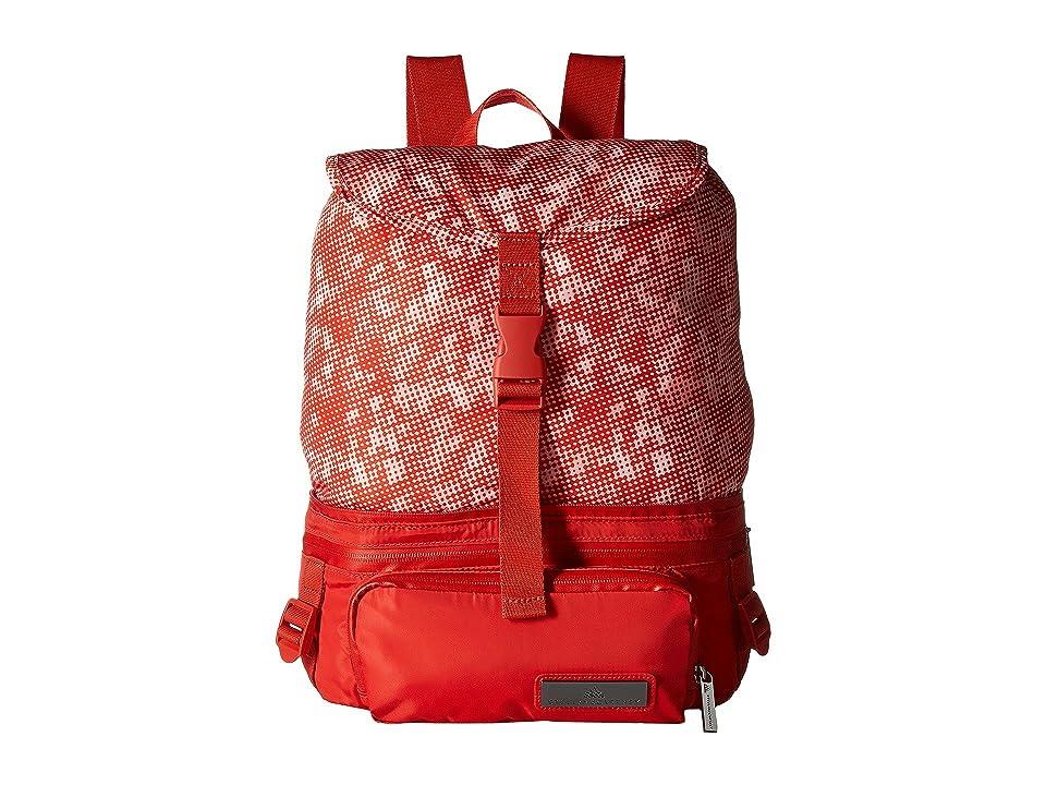 adidas by Stella McCartney Convertible Backpack (Dark Callistos/White) Backpack Bags