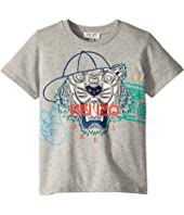Kenzo Kids - Summer Tiger Tee (Toddler/Little Kids)