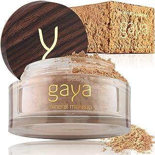 Base Maquillaje Mineral y Vegana - En Polvos Única 4 en 1 - Completo y con Protector Solar UV 100% Natural Y Multiuso To...