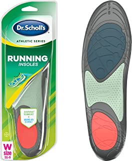 Dr. Scholl's RUNNING Insoles // Reduce Shock and Prevent Common Running Injuries: Runner's Knee, Plantar Fasciitis and Shi...