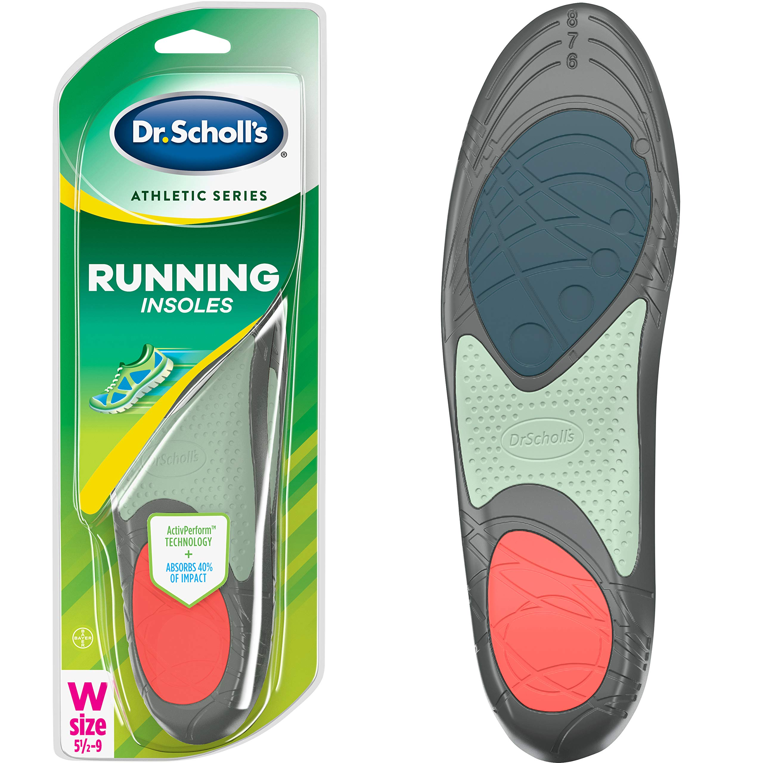 Dr Scholls Athletic Running Insoles