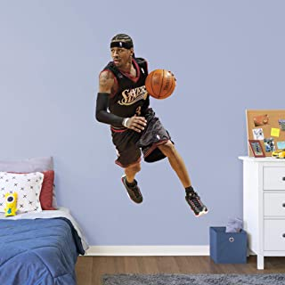FATHEAD NBA Philadelphia 76ers Allen IversonOfficially Licensed Removable Wall Decal