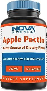 Nova Nutritions Apple Pectin 700 mg 120 Capsules