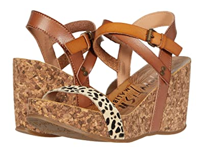 Blowfish Hirosha (Desert Sand Exotic/Tan Leopard/Arabian Sand) Women