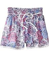 Ella Moss Girl - Izzy Printed Chiffon Shorts (Big Kids)