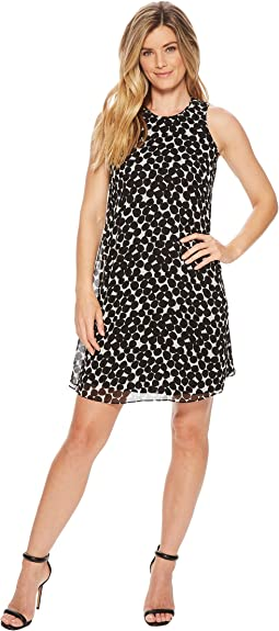 Polka Dot Trapeze Dress CD8HAC2R