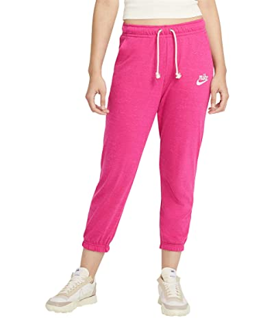 Nike NSW Gym Vintage Capris (Fireberry/Sail) Women