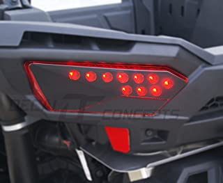 RZR 1000 Taillight Flat Black Decal Overlay kit (Both sides)