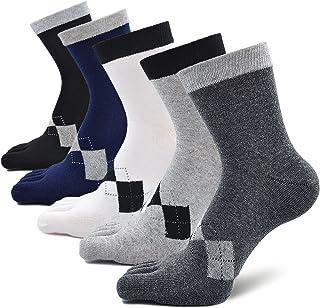 Calcetines Dedos Hombres Calcetines de Deportes de Algodón,Calcetines con cinco 5 dedos Hombre,Calcetines Antideslizantes,Cinco Calcetines de Los Dedos EU 38-44