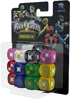 Renegade Game Studios Power Rangers Heroes of The Grid Ranger Dice Set