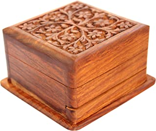 wood puzzle jewelry box