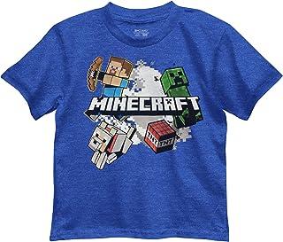 Minecraft Little Boys' Explosive Group Tee
