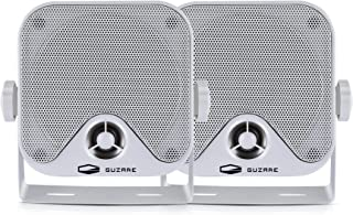 $29 » Sponsored Ad - Marine Speakers Waterproof 4 Inches Heavy Duty Surface Mount Outdoor Boat Speaker 100 Watts for ATV UTV RZR...