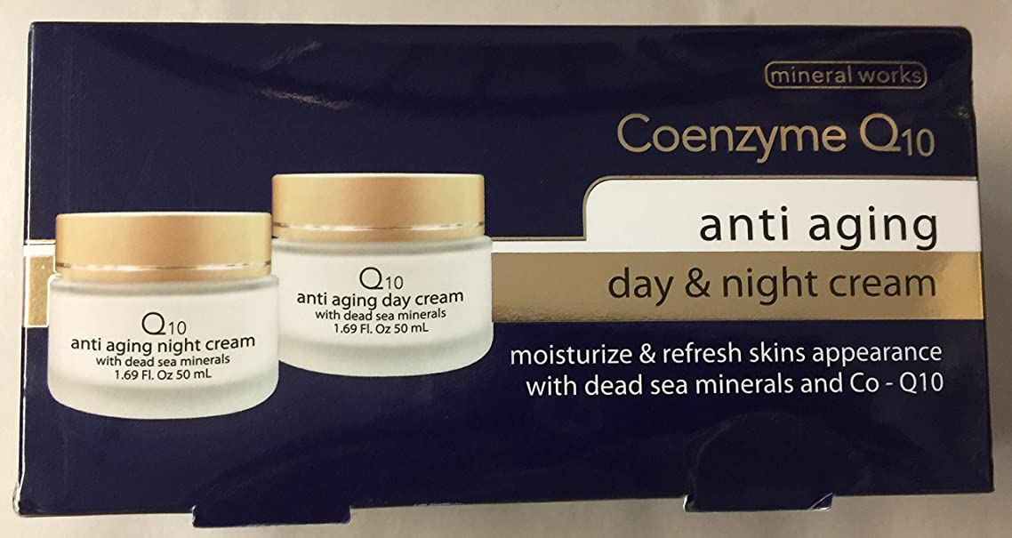 Coenzyme Q10 Anti Aging Kit Day and Night Creams