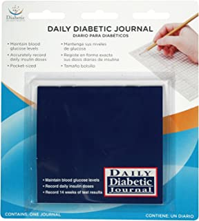 Flents By Apothecary Products Inc. Flents Diabetic Specialty Products Daily Diabetic Journal (Pack of 3)