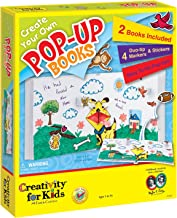 Creativity for Kids Create Your Own Pop-Up Books - Makes 2 Books - Teaches Beneficial Skills - Includes Story Ideas - For Ages 5 and Up