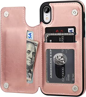 Acxlife Iphone Xr Case Xr Wallet Credit Card Holder