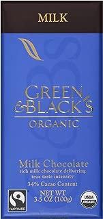 Green & Black's, Organic Milk Chocolate Bar, 34% Cocoa, 3.5 oz