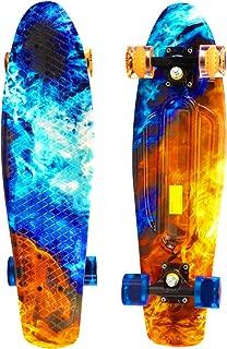 Scale Sports 27 Skateboard Complete Street Retro Cruiser Print Deck