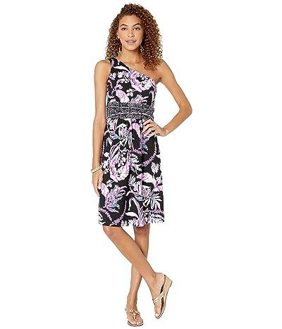 Lilly Pulitzer Malia Dress (Onyx Wild Within Engineered Dress) Women